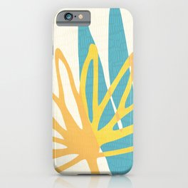 Happy Summer Abstract iPhone Case