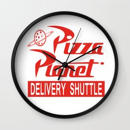 Pizza Planet Wall Clock