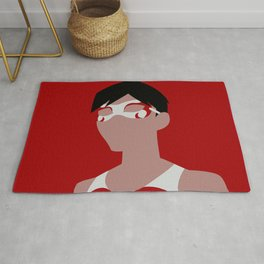 Flying Grayson Minimalism Rug