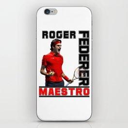 Roger Federer Maestro iPhone Skin