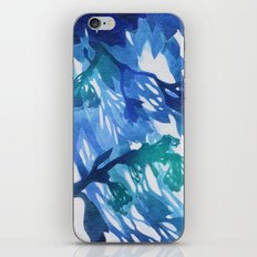 Morning Blossoms 2 - Blue Variation iPhone & iPod Skin
