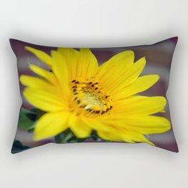 My Sunflower, Julia #10 Rectangular Pillow