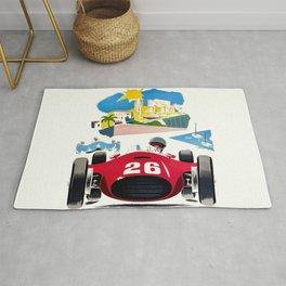 Classic Grand Prix Poster Rug