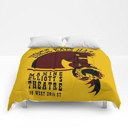 Horse eats hat Comforters