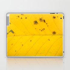 autumn leaf texture Laptop & iPad Skin