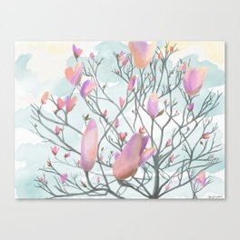Tulip tree Canvas Print