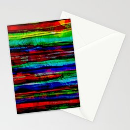 colorful bohemian pattern Stationery Cards