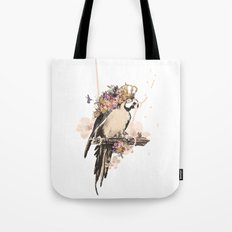 Pearly Parrot  Tote Bag