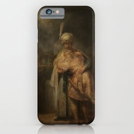 Rembrandt - Separation of David and Jonathan iPhone Case