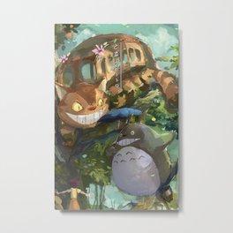 My Neighbor Totoros  Metal Print