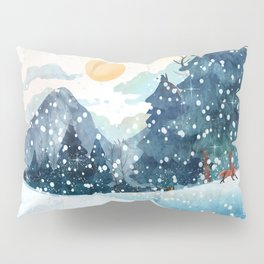 Happy Litlle Wildlife Pillow Sham