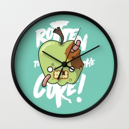 Rotten to the Core! Wall Clock