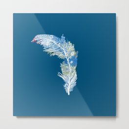 Feather Art Metal Print