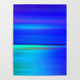 Night light abstract Poster