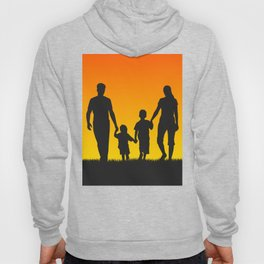 Family silhouettes shirt Hoody