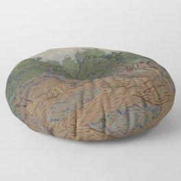 Olive grove Floor Pillow