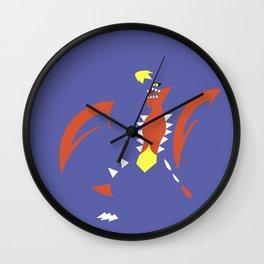 Mega Garchomp Wall Clock