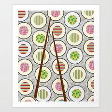 SushiTime Art Print