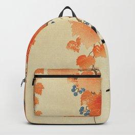Ohara Koson - Great tit on paulownia branch Backpack