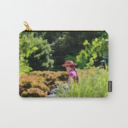 Lady In The Garden Carry-All Pouch