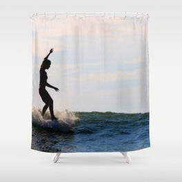 Water-dancer II Shower Curtain