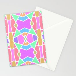 SWEET RETRO GEOMETRY Stationery Cards