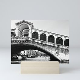 Venice bridges Mini Art Print