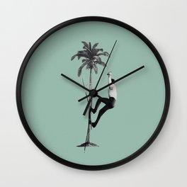 Off-piste Wall Clock