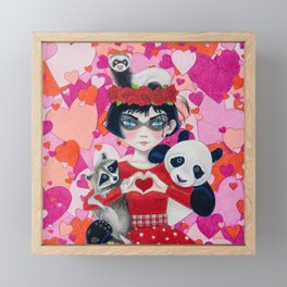 Love Bandits Framed Mini Art Print