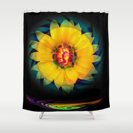 Sunflower Love Shower Curtain