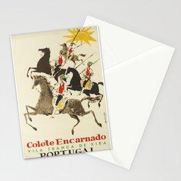 Retro Placard Colete Encarnado Red Vests Portugal Oskar Xira Stationery Cards