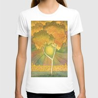 birch T-shirts featuring Birch 2 by Eugene Frost