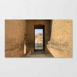 Egypt - Philae Temple Canvas Print