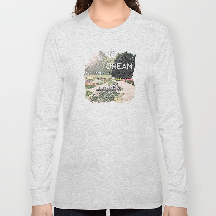 The Tulip Garden Long Sleeve T-shirt