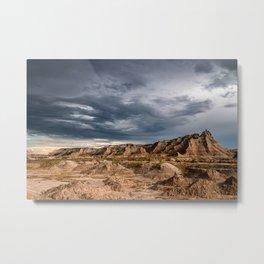 The Badlands - 02 Metal Print