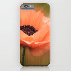 Soft Pink Poppy Slim Case iPhone 6s