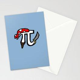 Pi Pirate Stationery Cards