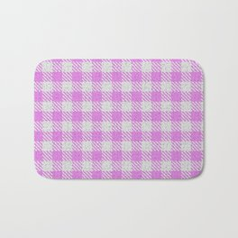 Violet Buffalo Plaid Bath Mat
