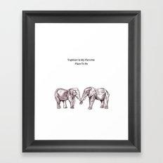 Days Framed Art Print