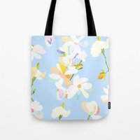 magnolia Tote Bags featuring Magnolia by 301F
