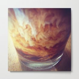 Coffee with Cream Metal Print