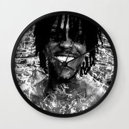 SOSA (BLACK & WHITE VERSION) Wall Clock