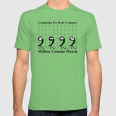 Million Comma March Mens Fitted Tee 2X-LARGE Grass