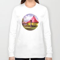once upon a  time Long Sleeve T-shirts featuring Once upon a time by INA FineArt