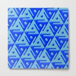 Geometrix 140 Metal Print