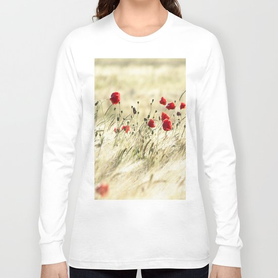 A POPPY  POEM Long Sleeve T-shirt