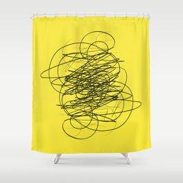 DEVOTIONAL SCRIBBLE Shower Curtain