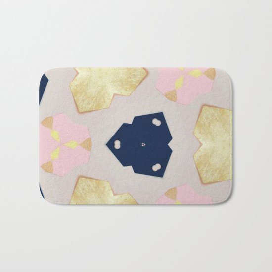 Pastel Pattern #society6 #decor #buyart Bath Mat