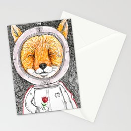 Le Petit Fox  Stationery Cards