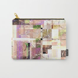 Abstract grunge geometric pattern. 2 Carry-All Pouch